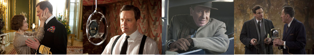 """Images from the film """"The King's Speech."""""""